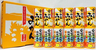 宇和島みかんジュース(6本)愛媛の太陽と浜風の恵みジュース(6本)セット