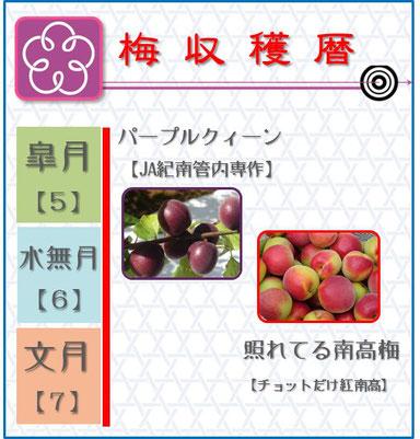 梅収穫暦 和×夢 nagomu farm