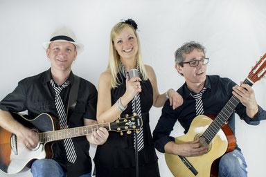 Der Musiker-Kern - DAS Trio: Martin + Maria + Cezar