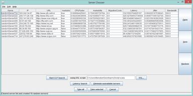 ServerChooser Screenshot