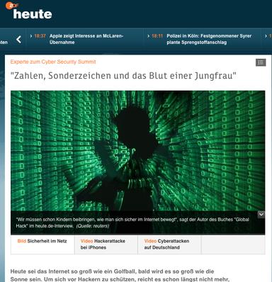 Mein Bericht für ZDF heute.de