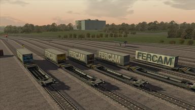 """Sdggmrss Trailer Wagons """"FERCAM"""" (5 Versionen / Versions)"""