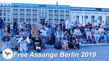Free Assange Berlin 2019