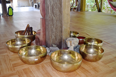 Yoga Detox Retreat in the Philippines - Singing Bowls
