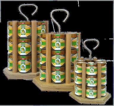 Honigträger Honeyboy Honigverkauf Honigpräsentation Verkaufsständer Honigtransport  Honig verkaufen Honiggläser