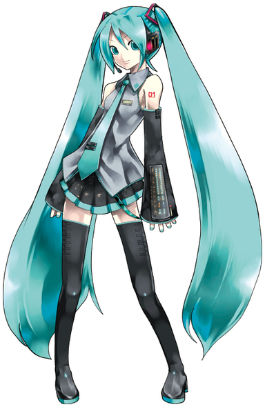 Hatsune Miku © Crypton Future Media - www.piapro.net