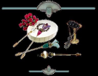 Le retour des fibules avec une collection perles d'exeption Aux Dames deJadis