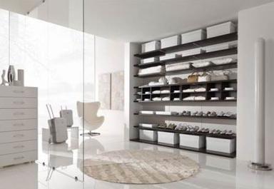 cuisine intérieur design toulouse dressing blanc ouvert range cravate penderie