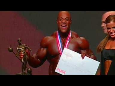 PHIL HEATH - 2012 MR. OLYMPIA WINNER