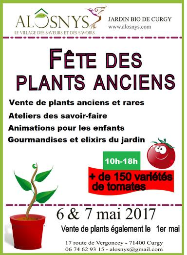 Fêtes des plants anciens au jardin permaculture à Curgy - 1h de Dijon