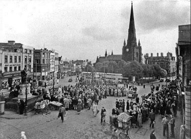 St Martin's in the Bull Ring 1950