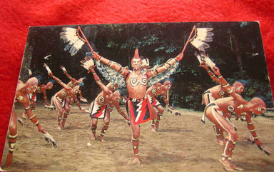 Cherokee-Tanztheater Photo by Hugh Morton (Eigene Sammlung)