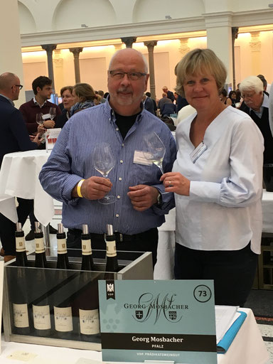 Joachim Pliquett & Sabine Mosbacher-Düringer bei der VDP