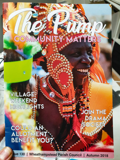 The Pump Community Matters magazine cover Issue 130