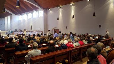 Messe dominicale Abbaye de Landévennec