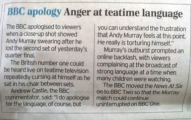 BBC apology