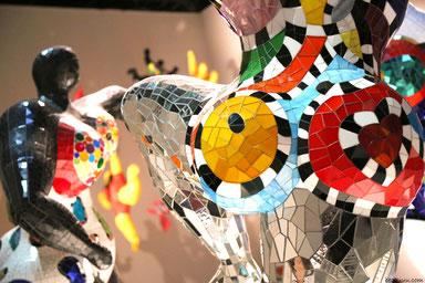 Nanas, Niki de Saint Phalle, Mosaïque, Mosaïque contemporaine, Zam-création, décoration