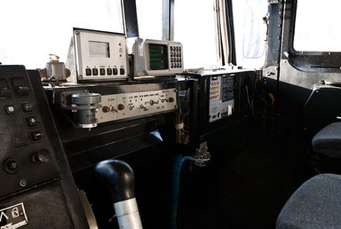 Внутри кабины 92Н6Е