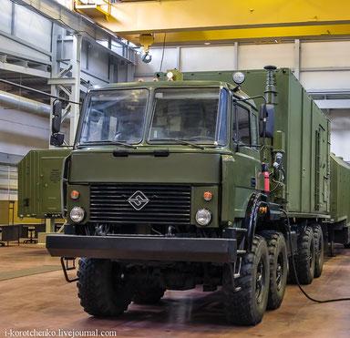 55К6Е - пункт боевого управления (ПБУ) ЗРС С-400