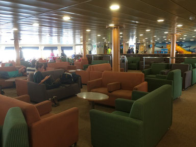 Confortable ce ferry!