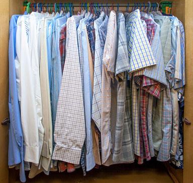 Organiza el armario de hombre - AorganiZarte
