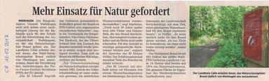 Quelle: Cellesche Zeitung, 10.07.2017