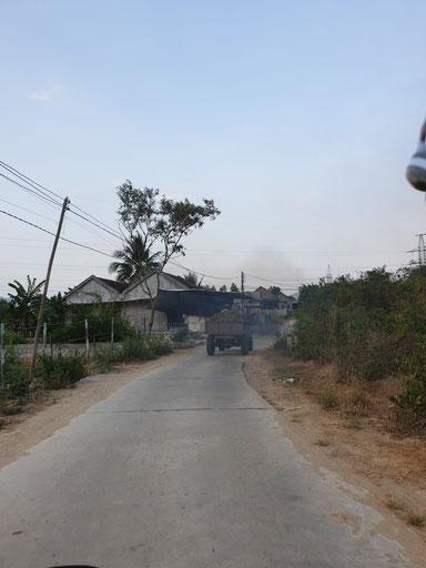 Auf dem Rückweg nach Nha Trang