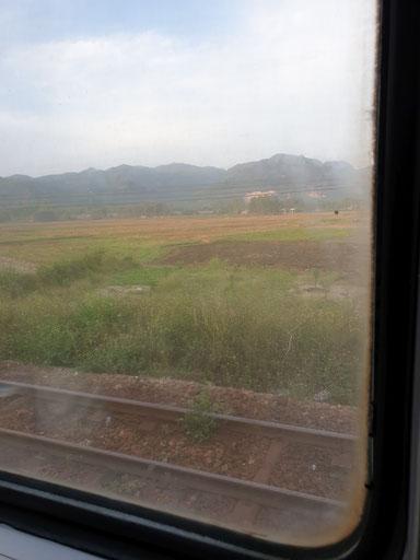 Blick aus dem Fenster kurz vor der Einfahrt nach Da Nang