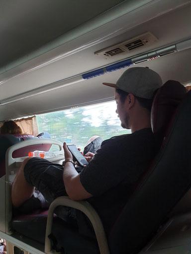 Sleeper-Bus von Da Lat nach Nha Trang