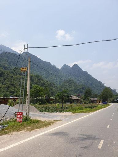 Start von Ha Giang auf den drei Tages Loop