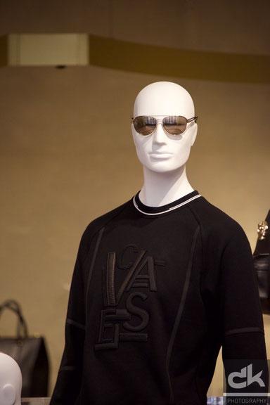 Schaufenster von Versace