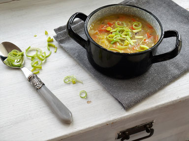 Lauch-Gemüse-Eintopf