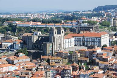 die Kathedrale Sé in Porto