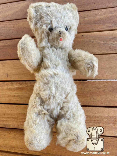 Ourson Louis Vuitton peluche vintage