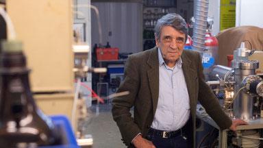 Bernard Tailliez, chimiste passionné d'écologie, chef du laboratoire Analytika, le 22 mai 20017 à Cuers, dans le Var / Photo Bertrand Langlois (AFP).