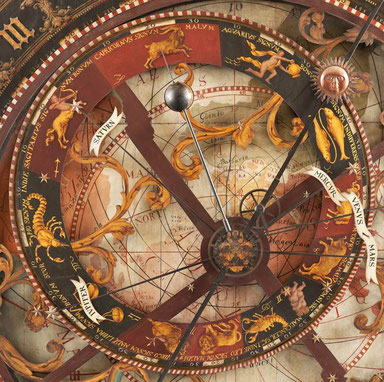 Astronomische Uhr in Münster, Foto: Prof. Dr. Günther Oestmann
