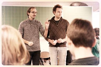 Atelier/rencontre à l'École Élémentaire République de Bischheim