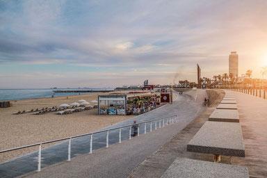 Strand im Poble Nou in Barcelona_Empfehlungen von Barcelona by locals