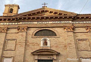 Recanati, Chiesa di Sant'Anna - esterno