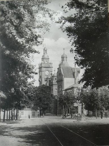 Ansicht vom Pankower-Rathaus um 1904