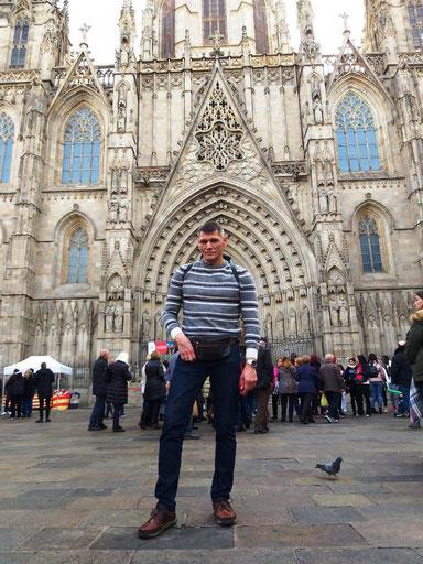 Кафедральный собор Барселоны - история