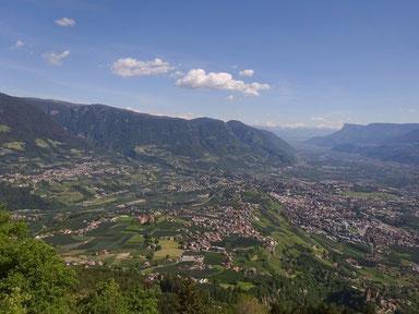 Bild von Dorf Tirol und Umgebung