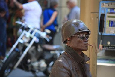 Easy Rider wartet auf Altersteilzeit