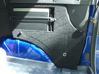 Wechsler Kofferraum rechts