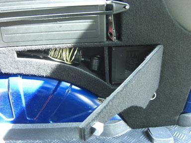 Wechsler Kofferraum rechts, Fach für Lampe und Zweitmagazin (Wechsler)