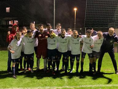 Unsere U16 feierte einen 9:1 Auswärtssieg beim FC Lustenau