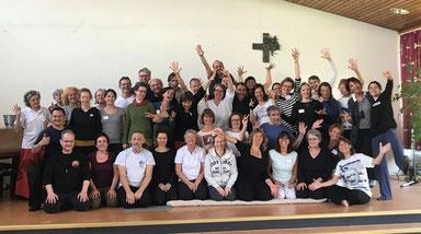 Shiatsu-Workshops mit Stéphane Vien in Kehl / 2019