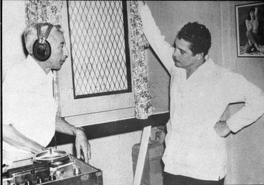 Daniel Santos y Toño Fuentes en 1964.