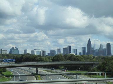 Die Skyline von Frankfurt/Main