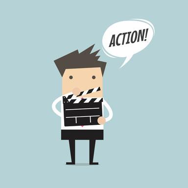 Rhetorik Training: Mehr Erfolg durch Selbstmarketing von Stärkentrainer Frank Rebmann - www.staerkentrainer.de - Action - Videoanalysen